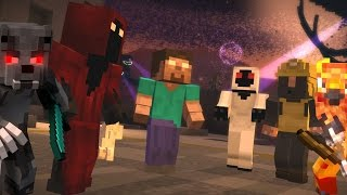 Mega Walls - WITHER STORM BOSS BATTLE!! - Minecraft Animation