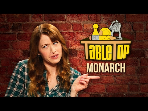 TableTop: Wil Wheaton plays MONARCH with Ashley Clements, Brea Grant, and Satine Phoenix!