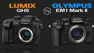 Panasonic LUMIX GH5 vs Olympus OMD EM1 Mark II