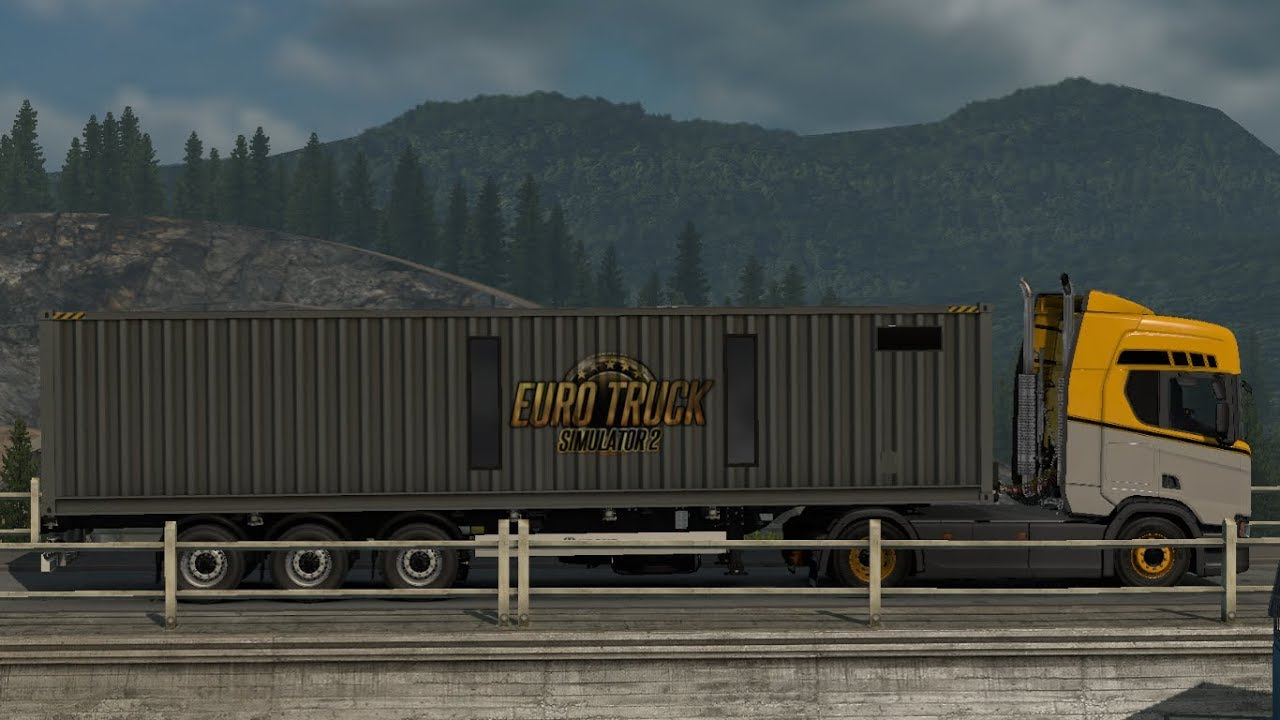 [1 33] Euro Truck Simulator 2 | SCS On The Road Trailer | Mods