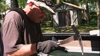 HOW TO CUT SLATE SHINGLES LIKE A PRO!