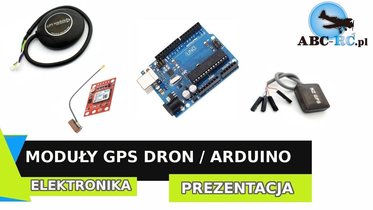 GPS do Drona Ublox NEO-M8N z kompasem do Pixhawk, PX4, Arduino i innych