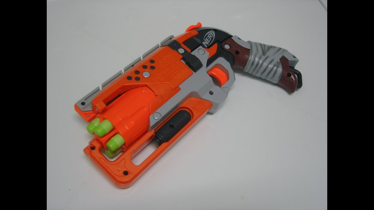 [REVIEW] Nerf Zombie Strike HammerShot Review & Firing Test