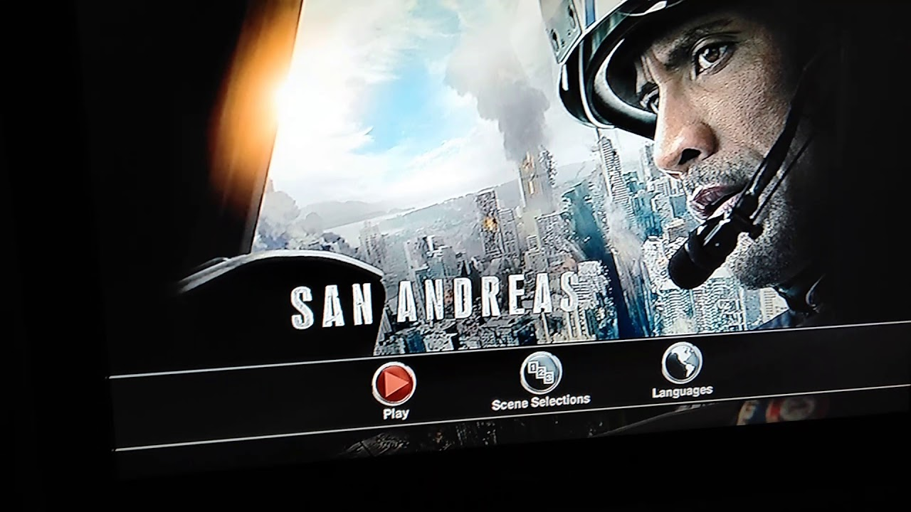 Opening To San Andreas 2015 Dvd Youtube