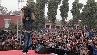 srk at hansraj college delhi university