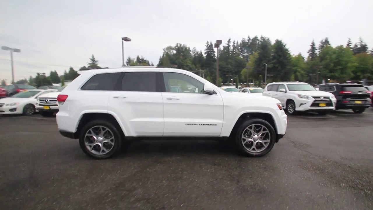 2018 Jeep Grand Cherokee Sterling Edition 4x4 Bright