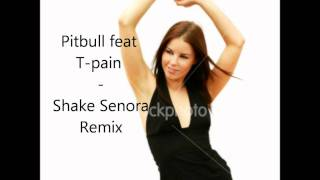 Pitbull ( ft T-Pain , Sean Paul) - Shake Senora Remix  ( Download link in description )
