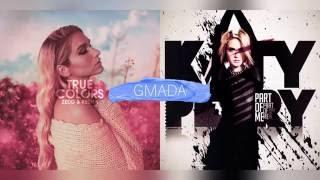 True Colors + Part Of Me - Zedd ft. Kesha & Katy Perry (Mashup)