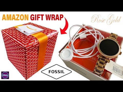 Fossil Women's Gen 4 Sloane HR Smartwatch Rose Gold (FTW6040)- Unboxing 2020 Amazon's Choice HD1080P from YouTube · Duration:  9 minutes 31 seconds