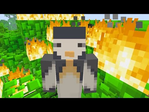 Minecraft PS4 - 20 Block Challenge - Forest Fire (11)