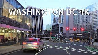 Washington DC 4K - Sunset Drive