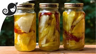 Easy And Spicy Mauritian-style Jicama, Pineapple And Mango Pickle (vegan / Vegetarian Recipe)