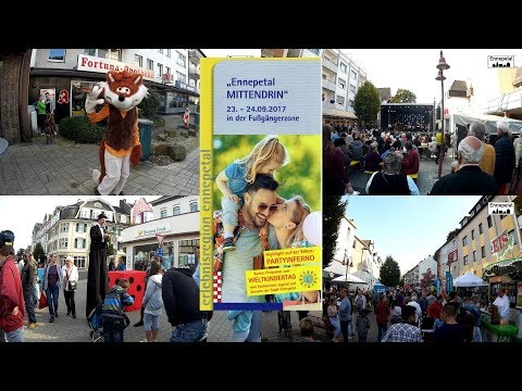 """Pralle volle Stadt bei """"Ennepetal mittendrin"""" So.24.9.2017"""