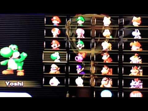 Mario Kart Wii All Characters Unlocked Youtube