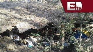 Policía del DF halla narcolaboratorio en El Ajusco / Vianey Esquinca