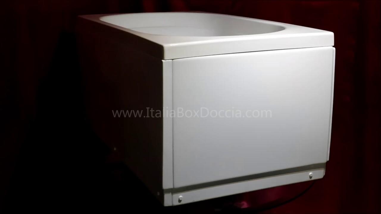 Vasca Da Bagno Vetroresina : Vasca in vetroresina con pannello youtube