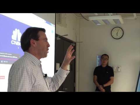 Geoff Cutmore- Speech in HKBU