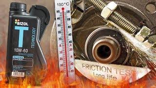 Bizol Technology 10W60 Jak skutecznie olej chroni silnik? 100°C