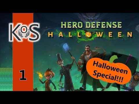 Hero Defense Haunted Island - Halloween DLC Special 2016! - Ep 1