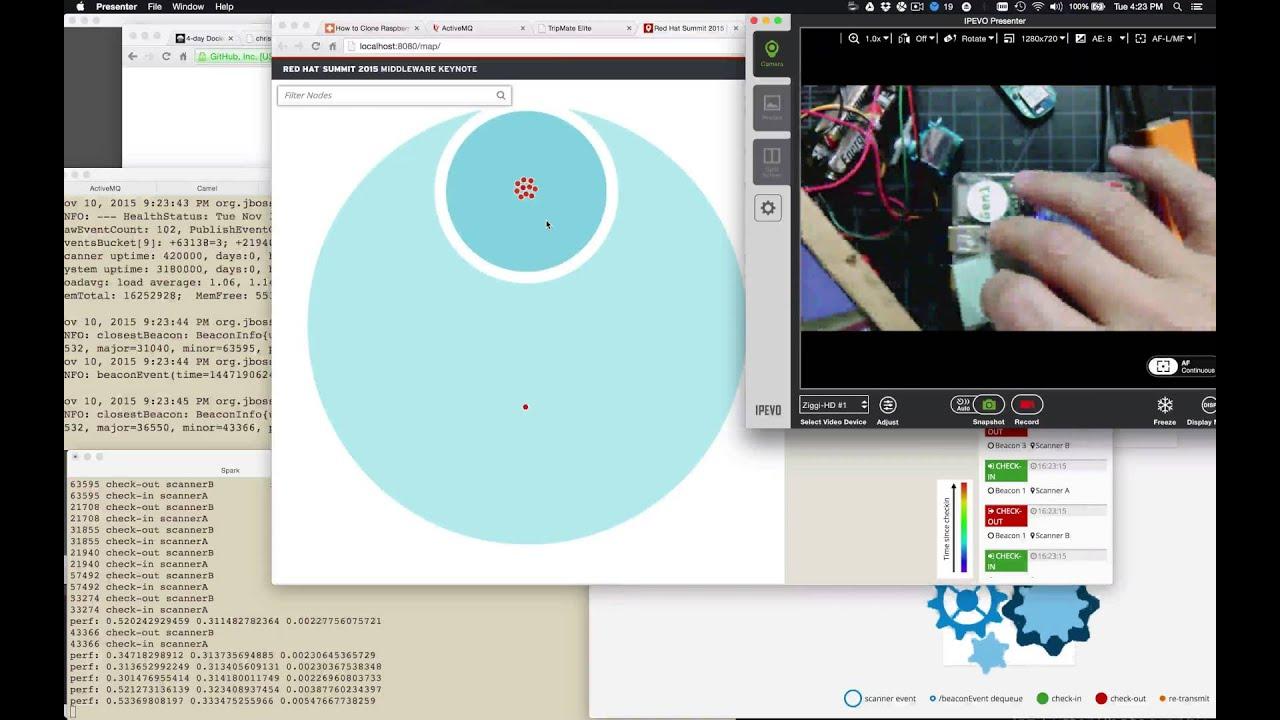 Apache Spark iBeacon Tracking