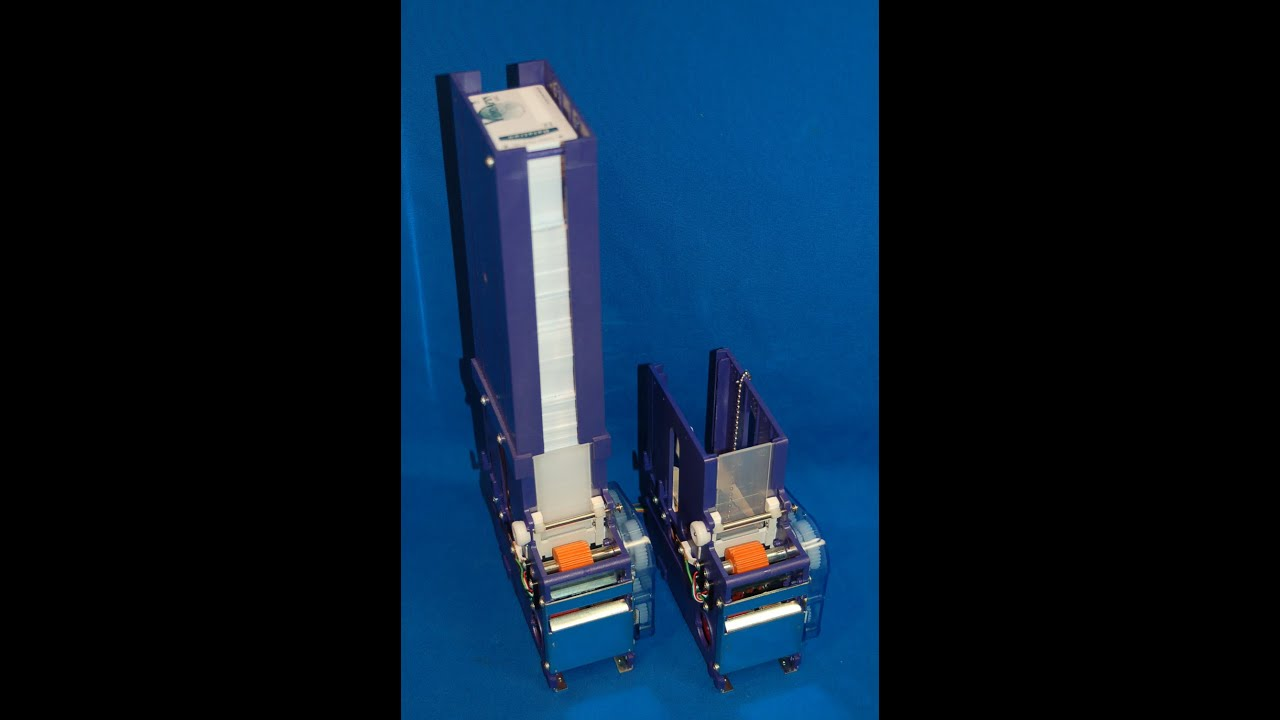 Card Dispenser Mechanism For Plastic & Paper Cards or Tickets ...