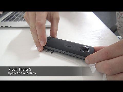Как увеличить память в Ricoh Theta S 360 камера ремонт инструкция аренда купить