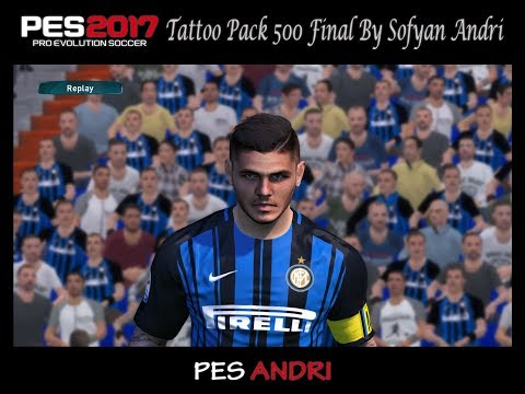 PES 2017 Tutorial Change Face For Tattoo Pack Final Mp3