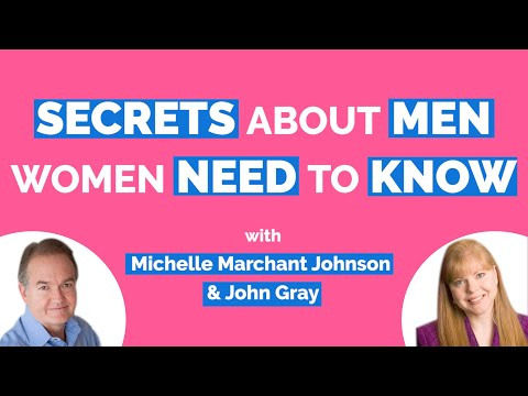 John Gray-Secrets About Men (Women Need To Know)-Author of Men Are From Mars, Women Are From Venus