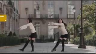 「ユニクロック・ダンサー」シリーズ(第7弾)。2009年製作の編集動画を...