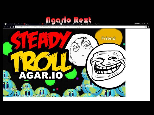 Agario - Rekt Live Stream
