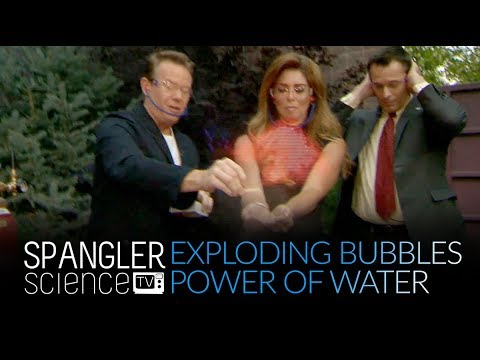 Burst Your Bubble - Exploding Bubbles - The Power of Water