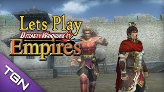 Lets Play Dynasty Warriors 6 Empires (Rise Of Wu) Part 1