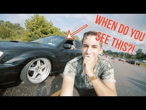FILMING A CAR SHOW IN THE RAIN (and some supra)