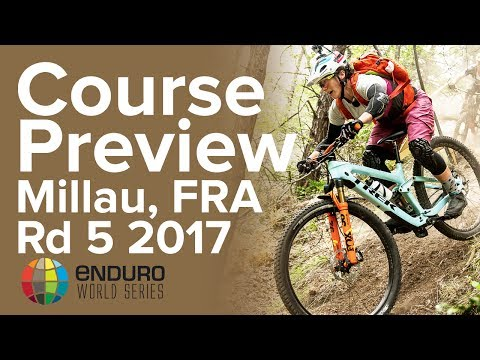 Course Preview with Tracy Moseley | EWS Millau, FRA 2017