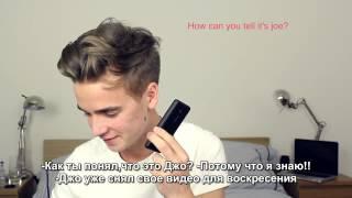 Youtuber Impressions Prank Calls   ThatcherJoe TranslatedUP! rus sub
