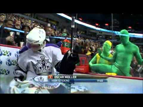 Vancouver Canucks and the Green Men