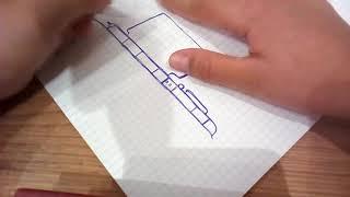 """Уроки рисования №2 """"шайтан труба"""""""