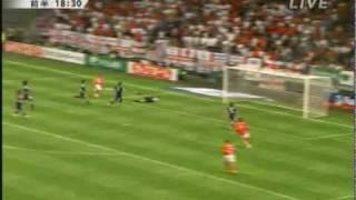 2010/05/30 Friendly Japan vs England 1st-half