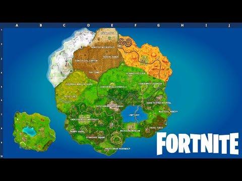 SEASON 7 MAP! (Fortnite: Battle Royale)