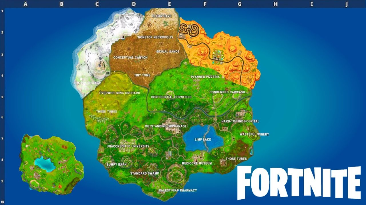 Season 7 fortnite mappa
