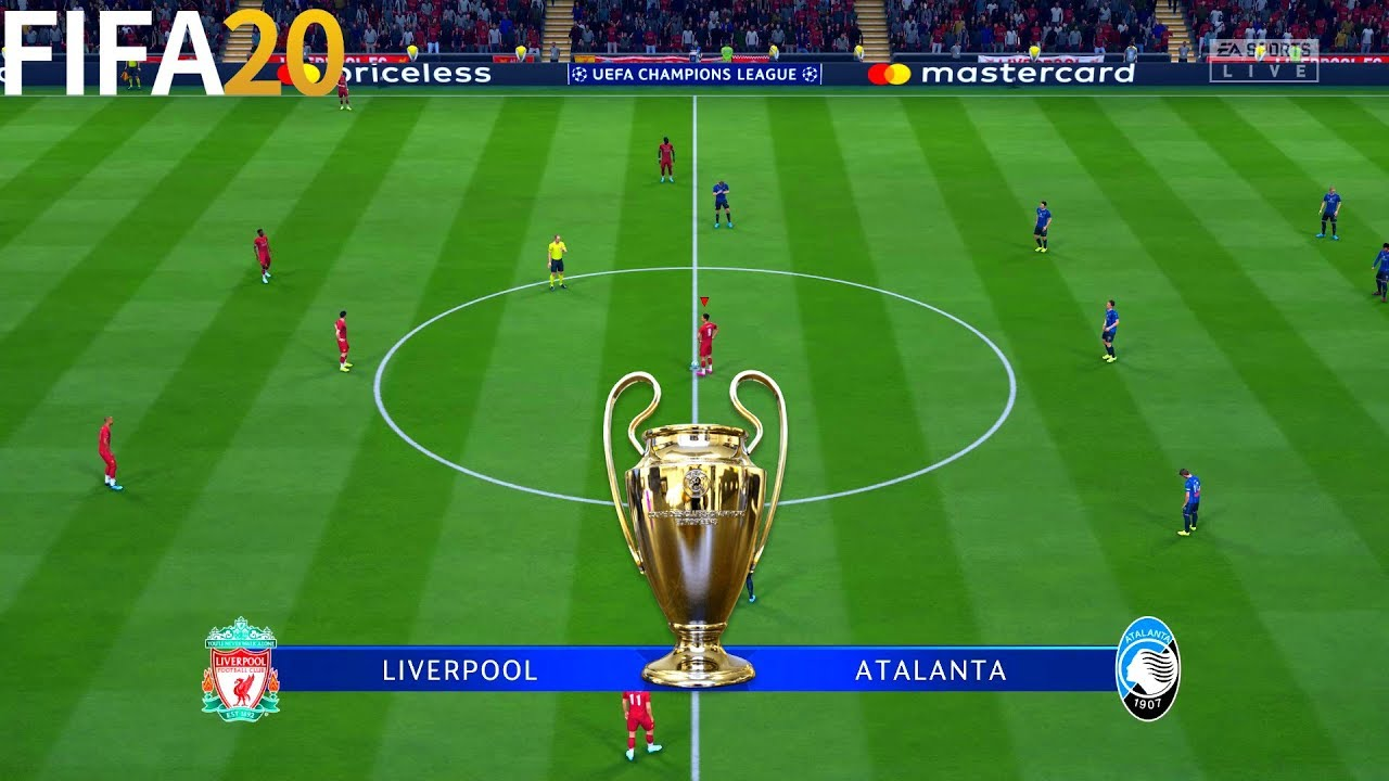 liverpool vs atalanta uefa champions league full gameplay fifa 20 youtube liverpool vs atalanta uefa champions league full gameplay fifa 20