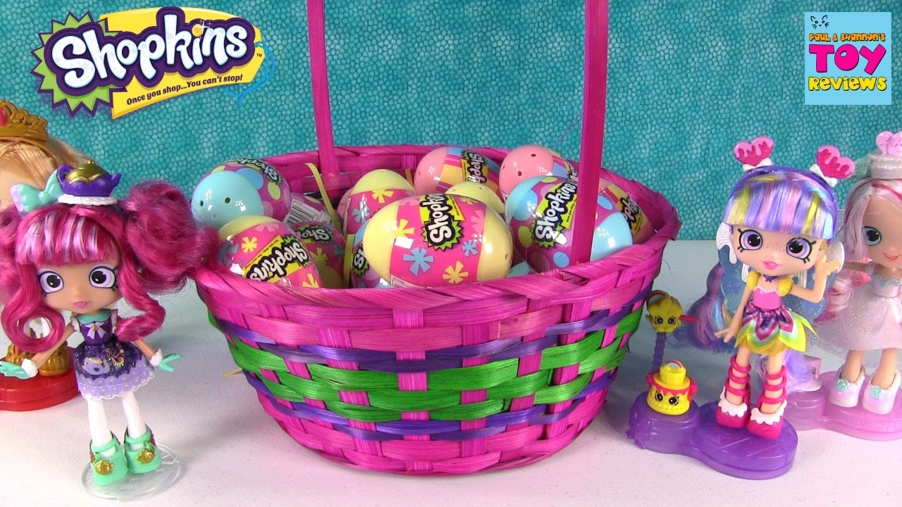 Shopkins giant basket easter eggs surprise 2 pack opening blind shopkins giant basket easter eggs surprise 2 pack opening blind bag fun pstoyreviews negle Image collections