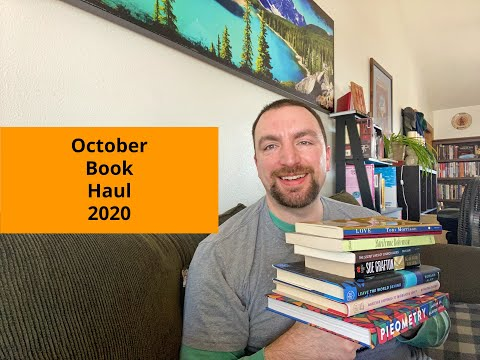 Book Haul For October 2020