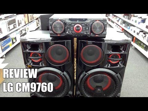 Review LG CM9760 Nuevo equipo de sonido bluetooth 2016
