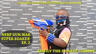 AFRICAN FUNNY VIDEO (NERF WAR) (Mark Angel Comedy) (Family The Honest Comedy) EP.2