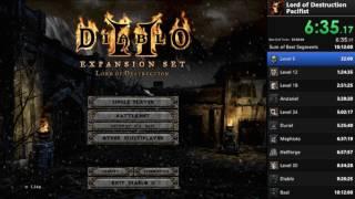 Diablo 2 - Pacifist (Sorceress) - 7:41:33