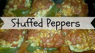 Stuffed Green Peppers