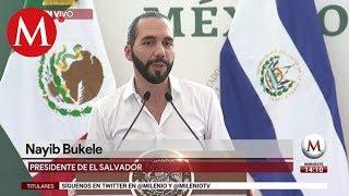 Nayib Bukele  en Plan de Desarrollo de Centroamérica