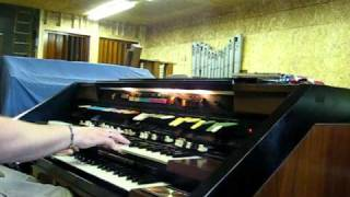 Strip Polka on the Hammond Concorde