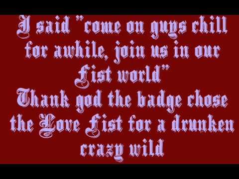 Love Fist - Fist Fury Lyrics